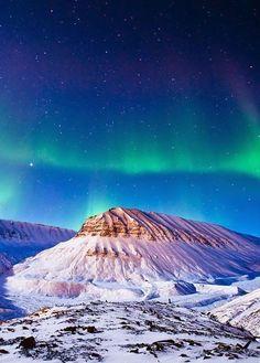 Svalbard, Aurora. (Norway)