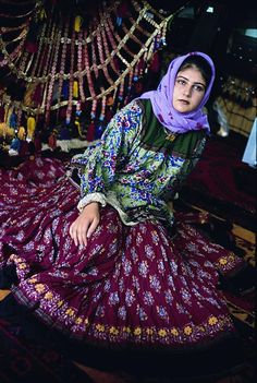 Kerman Women Traditional Costume