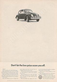VOLKSWAGEN 1966 Bug Ad