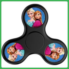 Spinner King Cute Frozen Queen Elsa and Anna Fidget Spinner Hand Spinner Relieve Anxiety And Boredom For Killing Time Kids & Adults To Anti-Anxiety - Fidget spinner (*Amazon Partner-Link)