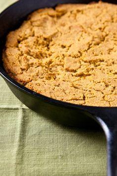 Pumpkin cornbread (Vegan + gluten free)