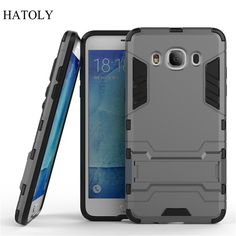 For Samsung Galaxy J5 2016 J510 J510F Case Robot Armor Case Hybrid Silicone Rubber Hard Back Phone Cover For Samsung J5 2016(<