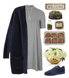 """""""#428"""" by j-payne ❤ liked on Polyvore featuring John-Richard, Topshop, Puma, Armenta, FREDS at Barneys New York, Poncho & Goldstein and Campania International"""