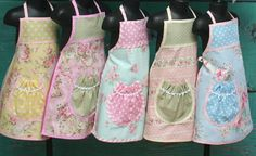 Birthday Party - Kids Party Aprons - Party Aprons - Shabby Chic