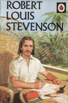 ROBERT LOUIS STEVENSON Vintage Ladybird Book History Series 561