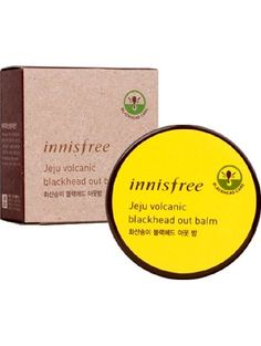 Innisfree Jeju Volcanic Black Head Out Balm ❤ Innisfree