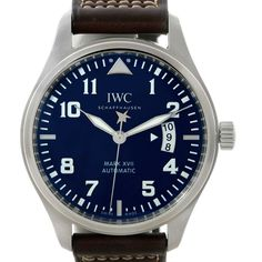IWC Pilots Mark XVII Le Petit Prince Steel Mens Watch IW326506