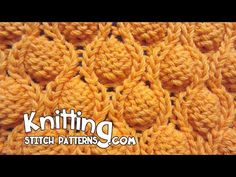 Knitting Strawberry Stitch Pattern Tutorial 13 Knit Stitch Pattern Library - YouTube