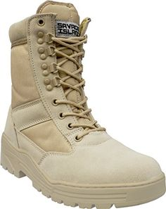 Desert Army Combat Patrol Boots Tactical Cadet Military S…