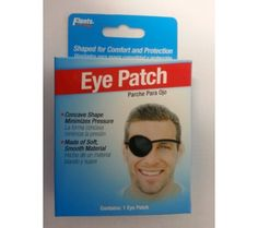 Flents Eye Patch Regular One Size Fits All - 1 ea  Flents Eye Patch Regular is made Of soft, smooth metetrial. Shaped for comfort and protection, minimizes pressure, and holds patch securely. Elastic headband. One size fits all Flents Eye Patch Regular One Size Fits All is made of soft, smooth metetrial. It is shaped for comfort and protection, minimizes pressure, and holds patch securely. It is elastic headband. One size fits all.