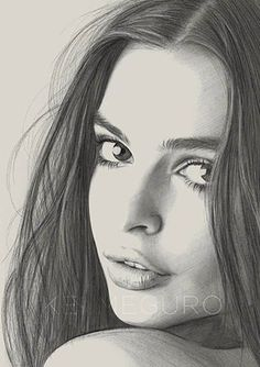 Portrait Mastery - Beautiful drawing by Kei Meguro Discover The Secrets Of Drawing Realistic Pencil Portraits Amazing Drawings, Realistic Drawings, Beautiful Drawings, Art Drawings Sketches, Face Pencil Drawing, Pencil Drawing Images, Drawing Faces, Pencil Portrait, Portrait Art