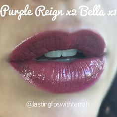 Fall LipSense colors Bella layered combo combination with purple reign and pearl gloss - lasting Lips with terrah - SeneGence distributor # 357974 Kiss Makeup, Love Makeup, Lip Sence, Brunette Makeup, Make Me Up, Face And Body, Makeup Addict, Lip Colors, Health And Beauty