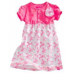 Z8 Baby - Jurkje Esmay fluor roze