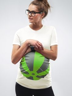 """That's cute Maternity """"beachball"""" T-Shirts. Why did I find it just now but not 3 years ago?"""