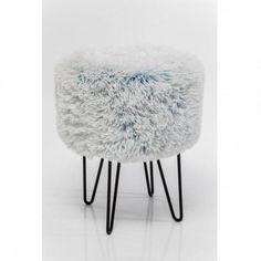 Stolička Fur Polar O35cm