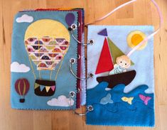 Quiet Book Pattern for open-ended play and story telling