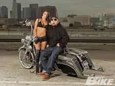 Jason Luevanos' (of LA Baggers) 2006 Road King was bought on a whim, but is far from his first custom.