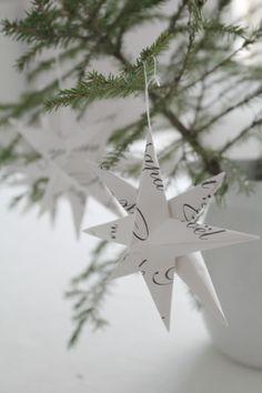 Villaa ja vaniljaa Merry Little Christmas, Green Christmas, Winter Christmas, Christmas Time, Xmas, Christmas Stars, Christmas Ideas, Christmas Tree Decorations, Christmas Ornaments