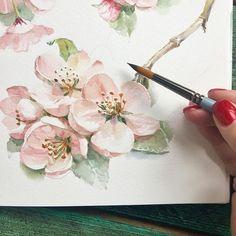 Watercolorist: @art_pavlova #waterblog #акварель #aquarelle #painting #drawing #art #artist #artwork #painting #illustration #watercolor #aquarela