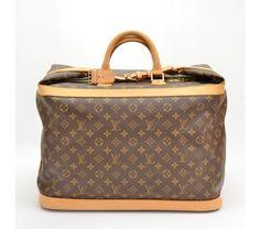 Louis Vuitton Monogram Canvas Large Deauville Bag #bags #fashion