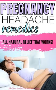 All natural pregnancy headache remedies that work! Pregnancy headaches are horrible! Don't suffer anymore and click here to find out how this mom of 4 treated her pregnancy headaches naturally… More Pregnancy Chart, Pregnancy First Trimester, Pregnancy Advice, Pregnancy Looks, Trimesters Of Pregnancy, Pregnancy Health, Headache Remedies, Headache Relief