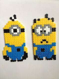 Minions hama perler beads by Fifinath78