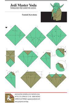 Oii pessoal, vagando pelos mares das internetzencontrei um tutorial muito bacana para quem curte origamis! É só clicar na imagem para ver em tamanho maior as explicações. Se não conseguir entender, vá no final do post! Esse é o resultado final! Foi executado pelo ~Orestigami Não conseguiu entender pelas figuras? Bom, aqui está uma boa…