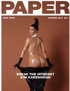 "What do you think of Kim Kardashian's attempt to ""break the internet""?   #KimKardashian"