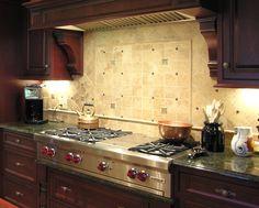 kitchen backsplash photo gallery   Interior Design For Kitchen Backsplashes - Belle Maison - Short Hills ...