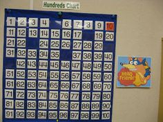 Swiper swipes a few numbers from the hundred chart.  Kids either find them and replace them or write the missing numbers.  Fun free idea!