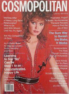 Cosmopolitan magazine, FEBRUARY 1982 Model: Karina Gomez Photographer: Francesco Scavullo