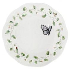 Butterfly Meadow Porcelain Pasta Bowl