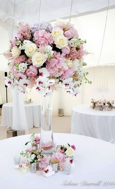 186 Best Centerpieces Pink Hot Pink Light Pink And Blush Images