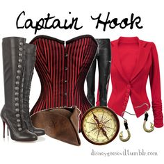 Captain Hook, created by disney-villains on Polyvore