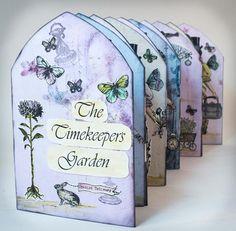 The Timekeeper's Garden Accordion Book Project