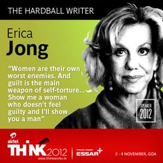 It's time for us to announce our next speaker at THiNK2012. The hardest part in writing about her is to not make it all about sex. As the woman who coined the legendary term 'zipless fuck' to describe the ideal sexual experience, she has talked, written, described, been interviewed and lectured on the subject for decades. Fear of Flying, her first novel, blew conventional thinking about women, marriage and sexuality out of the water. Erica Jong is our speaker at THiNK2012 (2 - 4 November…