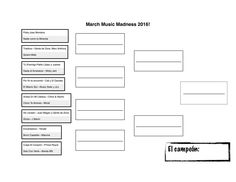 Last year I did the March Music Madness for the first time and it was super successful! So I'm doing it again this year. We start next week. Here are my song brackets: 2016 MUSIC BRACKET Coron, Daddy Yankee, Place Value Worksheets, Spanish Holidays, Spanish Songs, All Songs, Tv Commercials, Me Me Me Song, News Songs