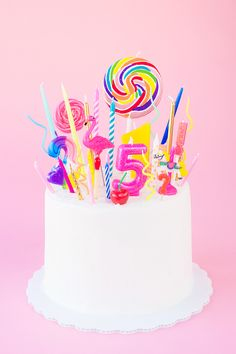 Birthday Candles Cake Designs Creative Cakes Cupcakes Parties