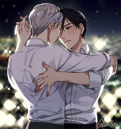 Victor x Yuuri - Yuri!!! on Ice by GEAROUS/ギア on pixiv
