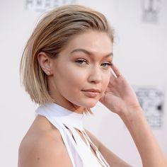 Chopped! Gigi Hadid Just Got a New Bob—See the Photos via @ByrdieBeauty