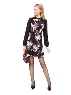 Ebony Bloom Dress