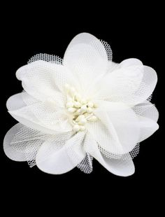 Floral side headpiece.