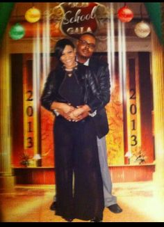 Tamiko Hines and her Husband..