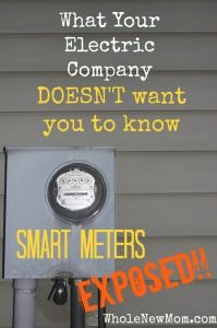 Smart Meters - Safe or Not? Read this before you allow your electric utility to put a Smart Meter on your house--or even if you have a smart meter already.