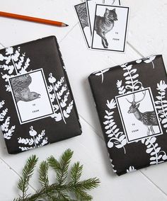 Free Printable: woodland gift tags