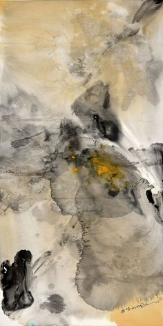 x 中国画ink on chinese rice paper, 2013 Painting Carpet, Mural Painting, Oil Painting Abstract, Paintings, Art Chinois, Orange Painting, Resin Art, Art And Architecture, Sculpture Art
