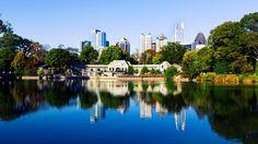 Atlanta, Georgia, Piedmont Park.