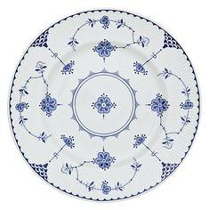 Johnson Brothers Blue Denmark Plate | johnlewis.com