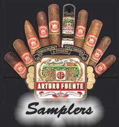 Arturo Fuente Cigar Samplers. My favorite cigars