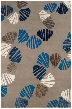 Judy Ross Textiles - Shells rug                              …